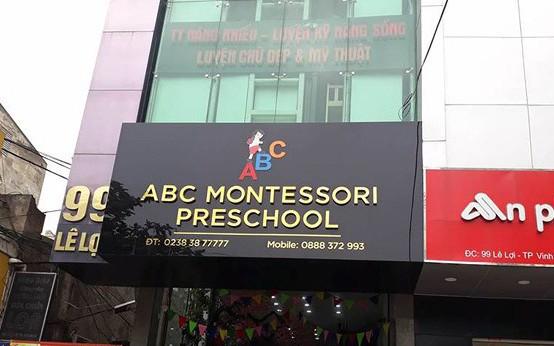 Nghệ An: Đình chỉ cơ sở mầm non nơi có cô giáo đánh trẻ sau một ngày được cấp phép hoạt động