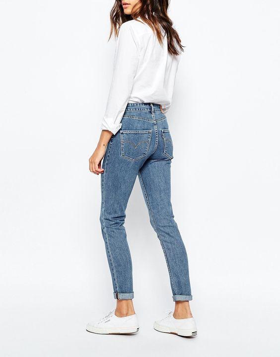 Chọn quần jeans chỉ cần chọn kiểu quần có đường may này, vòng 3 của bạn sẽ được nâng lên tức thì  - Ảnh 4.