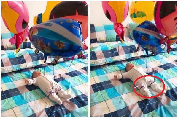 Nhờ bà trông con hộ một lúc, mẹ trẻ quay lại và ngỡ ngàng với món đồ chơi bà tạo ra để dỗ cháu - Ảnh 4.