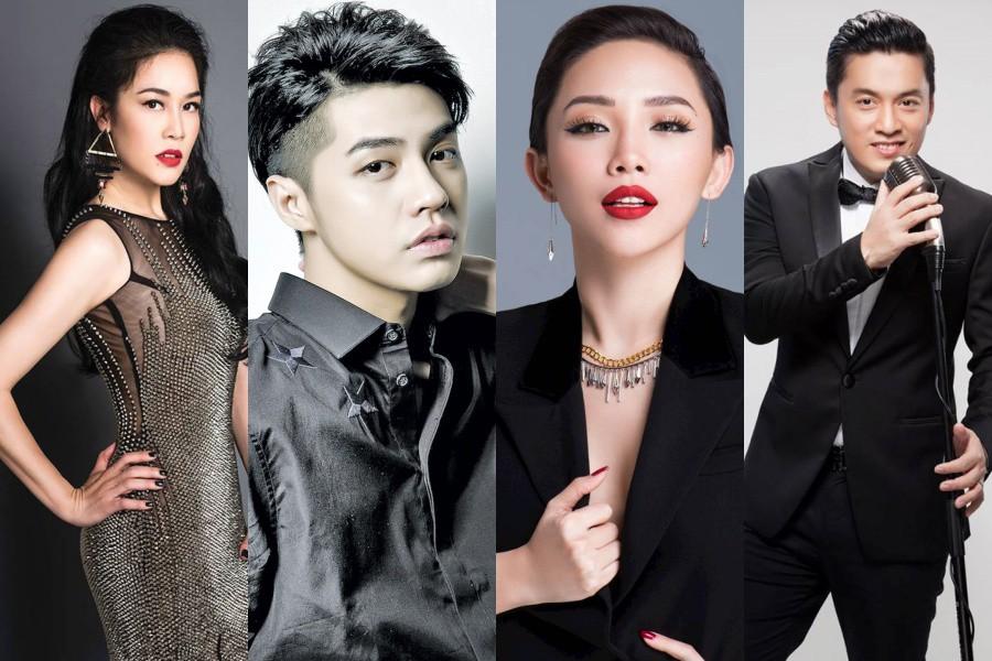 Thu Phương, Tóc Tiên, Noo Phước Thịnh và Lam Trường sẽ ngồi ghế nóng The Voice