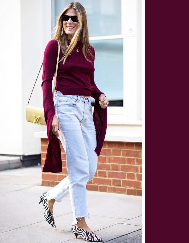 Không cần chọn kiểu dáng, chỉ cần kết hợp cùng 5 gam màu này là set đồ với quần jeans nhìn long lanh hết mức - Ảnh 6.