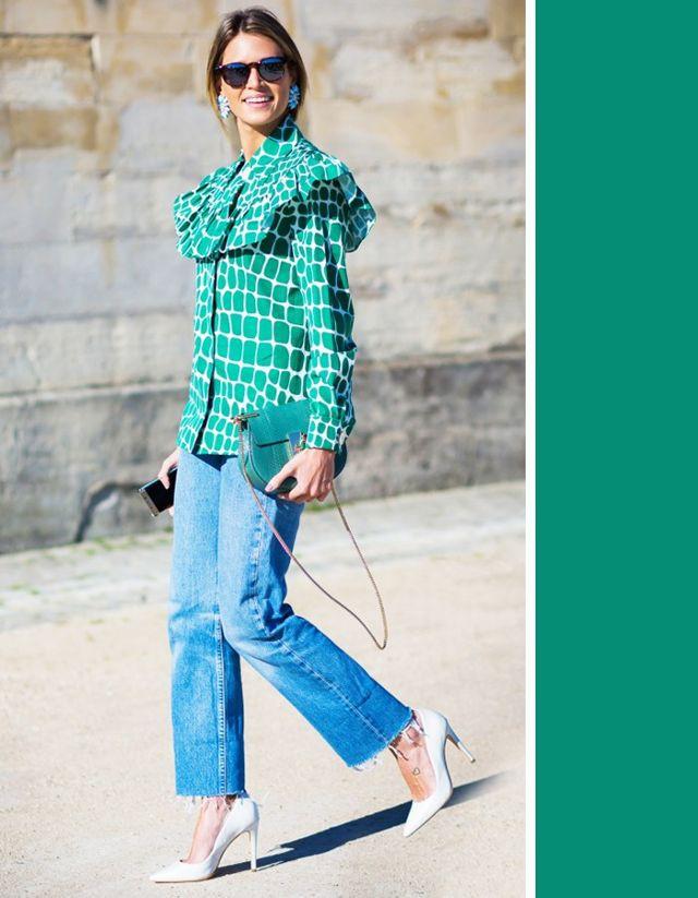 Không cần chọn kiểu dáng, chỉ cần kết hợp cùng 5 gam màu này là set đồ với quần jeans nhìn long lanh hết mức - Ảnh 9.