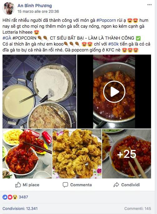 Cô gái 9X chia sẻ công thức làm gà popcorn tuyệt đỉnh hút 16 ngàn lượt like share MXH - Ảnh 1.