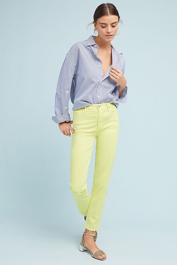 Zara cùng loạt thương hiệu khác lăng xê nhiệt tình mẫu quần jeans sắc màu trong hè này - Ảnh 6.