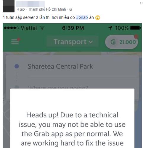 Nhiều hành khách phàn nàn khi ứng dụng Grab liên tục bị treo và tố hãng âm thầm tăng giá cước - Ảnh 2.