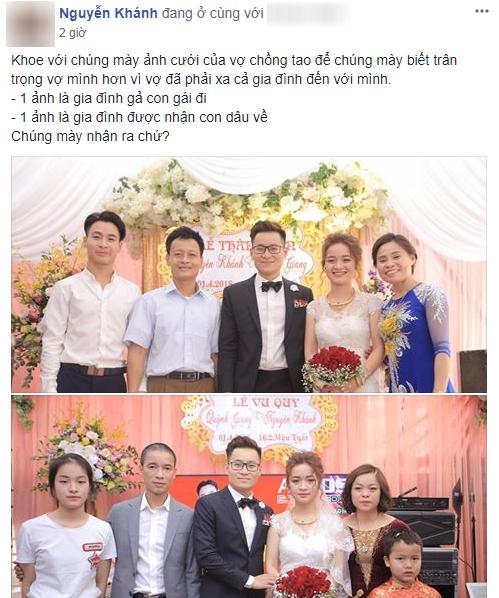 Một đám cưới hai tâm trạng - bức ảnh làm dậy sóng MXH hôm nay chứng minh: Ngày cưới chưa chắc ai cũng vui! - Ảnh 1.