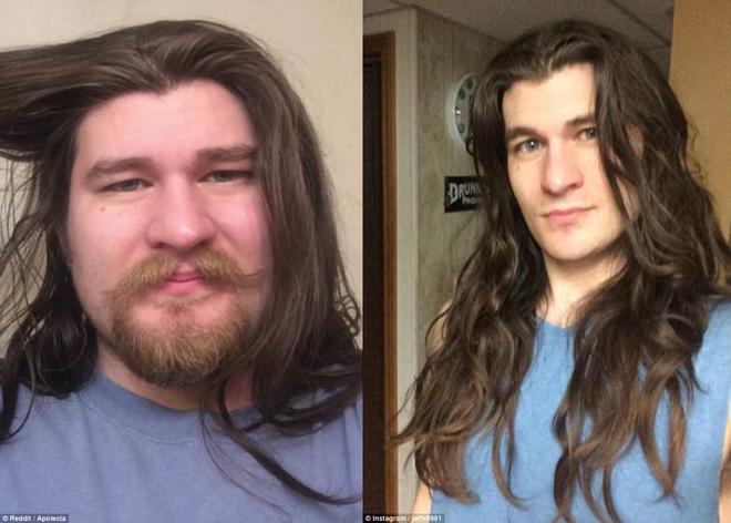 Giảm 30kg, cắt sạch râu, chàng trai trẻ giờ đẹp như hoàng tử Disney khiến nhiều cô nàng tiếc hùi hụi - Ảnh 1.