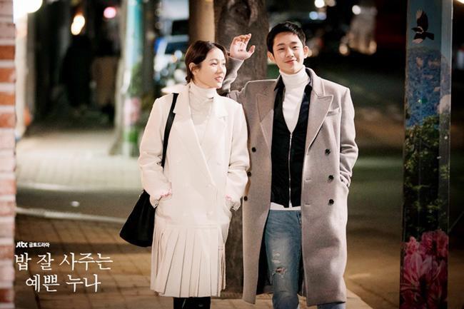 Yêu trai trẻ sáng láng như Joon Hee mà chị đẹp Jin Ah cứ mãi xuề xòa từ trang phục đến đầu tóc thế này kể cũng thấy lo lo - Ảnh 2.