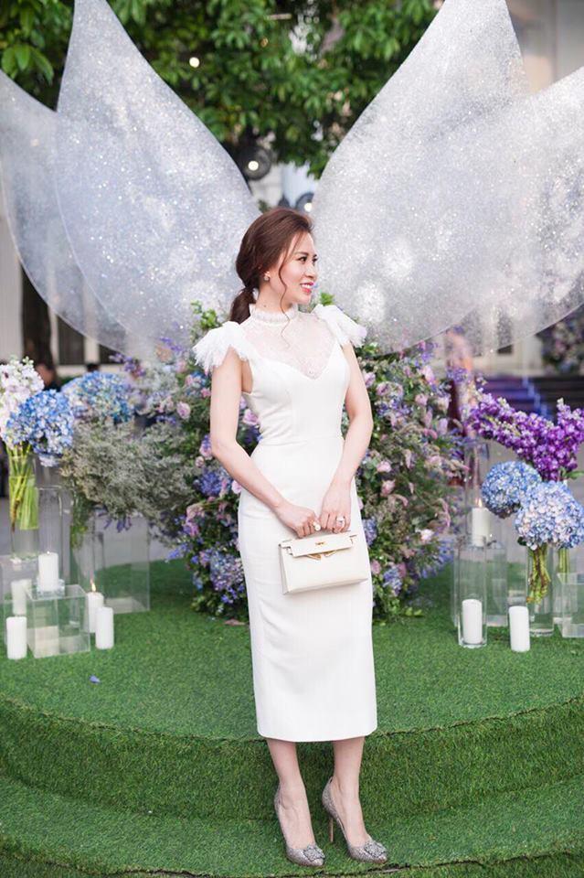 Sau 1 năm kết hôn với bao sóng gió thị phi, vợ thứ 2 của MC Thành Trung ngày càng xinh đẹp, sang chảnh - Ảnh 8.