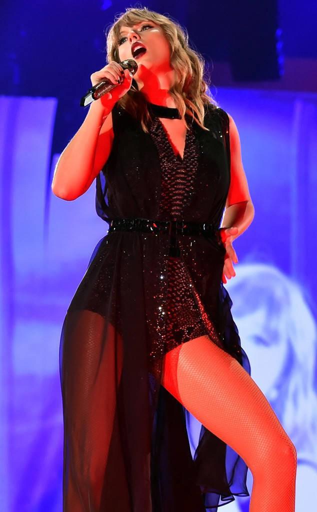 Thời trang tour diễn Reputation: Taylor Swift thay đồ 9 lần, dù béo lên nhưng diện bộ nào cũng sexy và quyền lực - Ảnh 10.