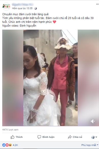 MC đám cưới làng đang gây bão MXH tiết lộ nhiều chi tiết bất ngờ về cặp đôi - chú rể 28 tuổi, cô dâu 39 tuổi - Ảnh 2.