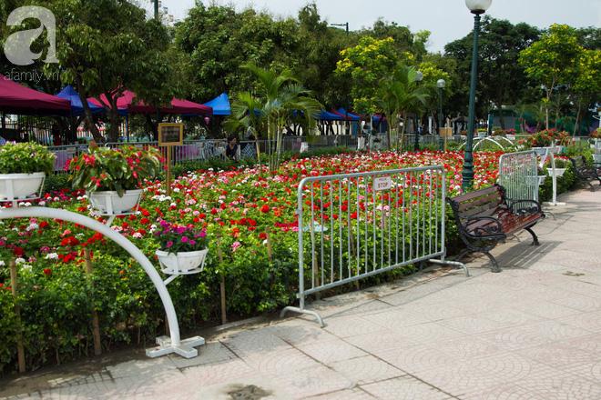 Phố đi bộ Trịnh Công Sơn vắng vẻ trong sáng đầu tiên khai trương - Ảnh 2.