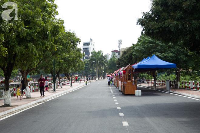 Phố đi bộ Trịnh Công Sơn vắng vẻ trong sáng đầu tiên khai trương - Ảnh 3.