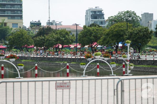 Phố đi bộ Trịnh Công Sơn vắng vẻ trong sáng đầu tiên khai trương - Ảnh 8.