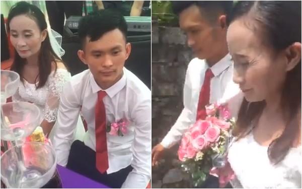 MC đám cưới làng đang gây bão MXH tiết lộ nhiều chi tiết bất ngờ về cặp đôi - chú rể 28 tuổi, cô dâu 39 tuổi - Ảnh 3.