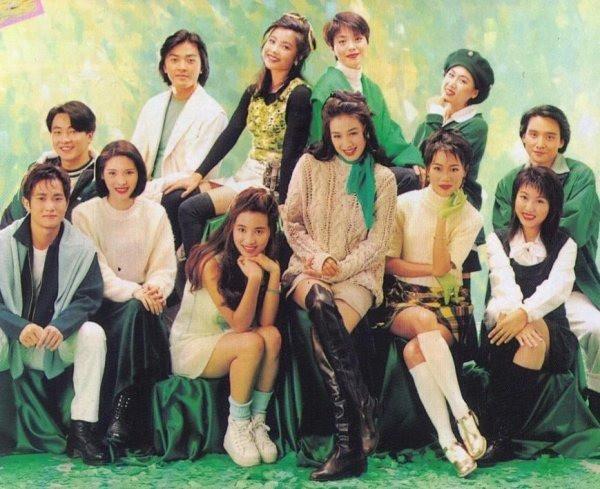 Chùm ảnh quý hiếm của dàn sao TVB: Thanh xuân rực rỡ của thế hệ 7X, 8X bỗng chốc thu nhỏ lại chỉ bằng những bức ảnh cũ, đã sờn màu - ảnh 2