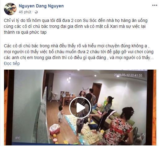 Đăng Nguyên, Hằng Túi liên tục tung clip về đoạn xô xát quanh tranh cãi nuôi con - Ảnh 2.
