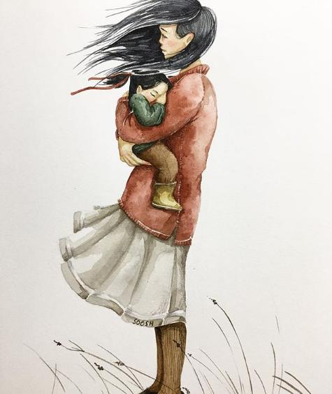 Ngày của Mẹ: Cùng ngắm bộ tranh về những điều thiêng liêng nhất dành cho con nhưng chưa bao giờ mẹ kể  - Ảnh 3.