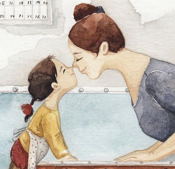 Ngày của Mẹ: Cùng ngắm bộ tranh về những điều thiêng liêng nhất dành cho con nhưng chưa bao giờ mẹ kể  - Ảnh 8.