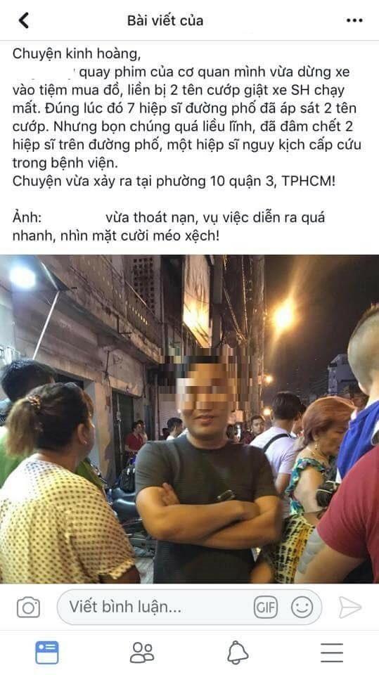 Vụ băng trộm SH đâm chết 2 hiệp sĩ Sài Gòn: Chủ nhân chiếc xe trần tình việc dân mạng tố sau vụ việc vẫn rủ bạn đi nhậu - Ảnh 2.