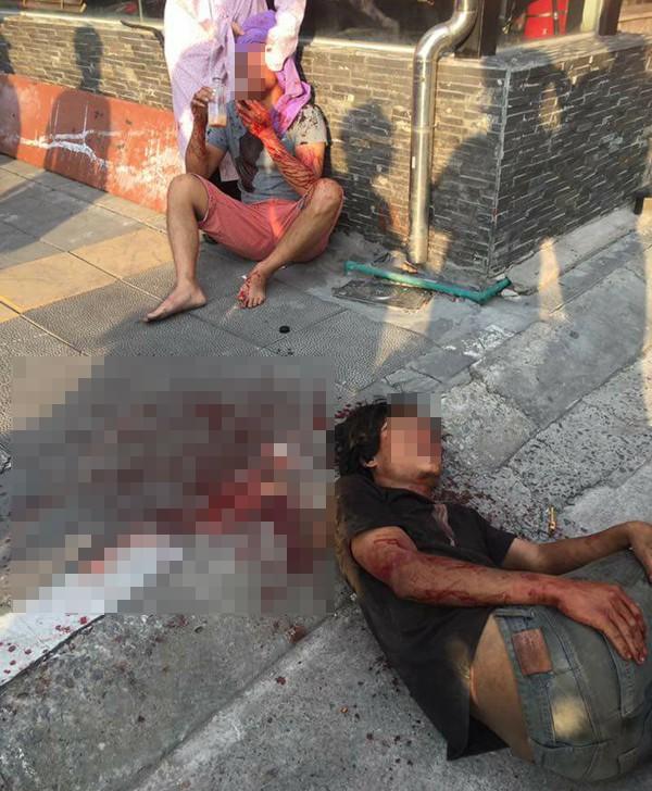 Đưa người đàn ông đập xe ô tô, đánh người ở Hà Nội vào bệnh viện tâm thần - Ảnh 1.