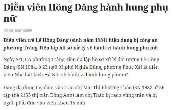 """Để lại bình luận bênh vực Phạm Anh Khoa nhưng Hồng Đăng nhanh chóng xóa đi vì bị """"khui"""" từng đánh phụ nữ - Ảnh 2."""