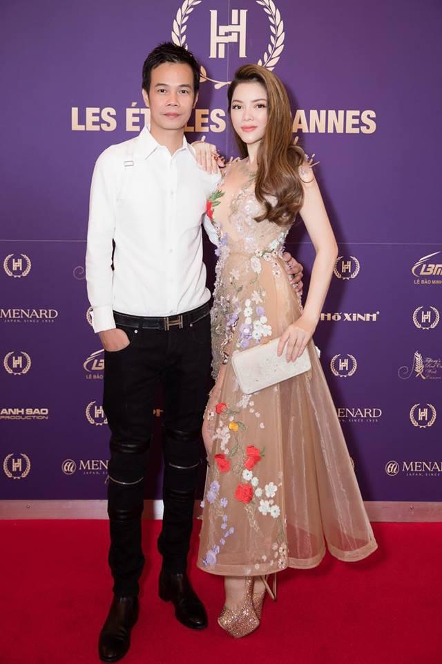 Nhã Phương đọ sắc cùng HH Đỗ Mỹ Linh và Lý Nhã Kỳ trong sự kiện thời trang tại Cannes - Ảnh 3.