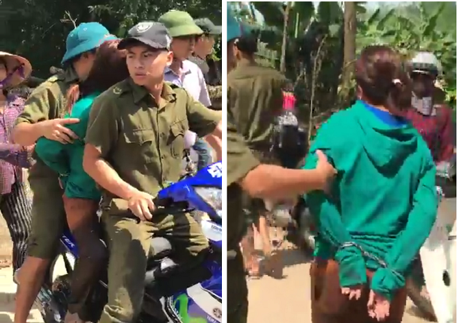 Thực hư chuyện người phụ nữ bị công an giữ vì nghi bắt cóc trẻ em ở Vĩnh Phúc - Ảnh 1.
