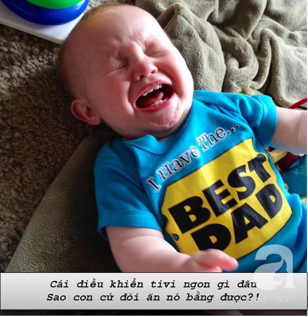 """Những lí do """"trên trời"""" khiến các bé khóc lóc ăn vạ còn mẹ thì phải """"bó tay"""" - Ảnh 3."""