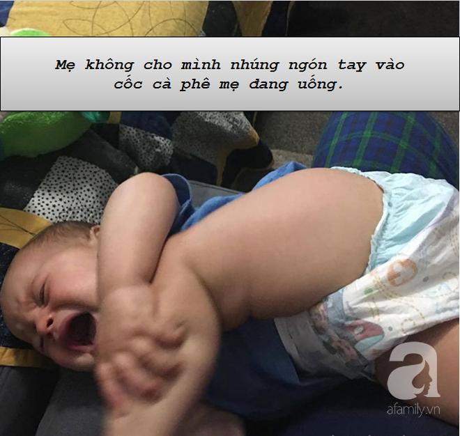 """Những lí do """"trên trời"""" khiến các bé khóc lóc ăn vạ còn mẹ thì phải """"bó tay"""" - Ảnh 12."""