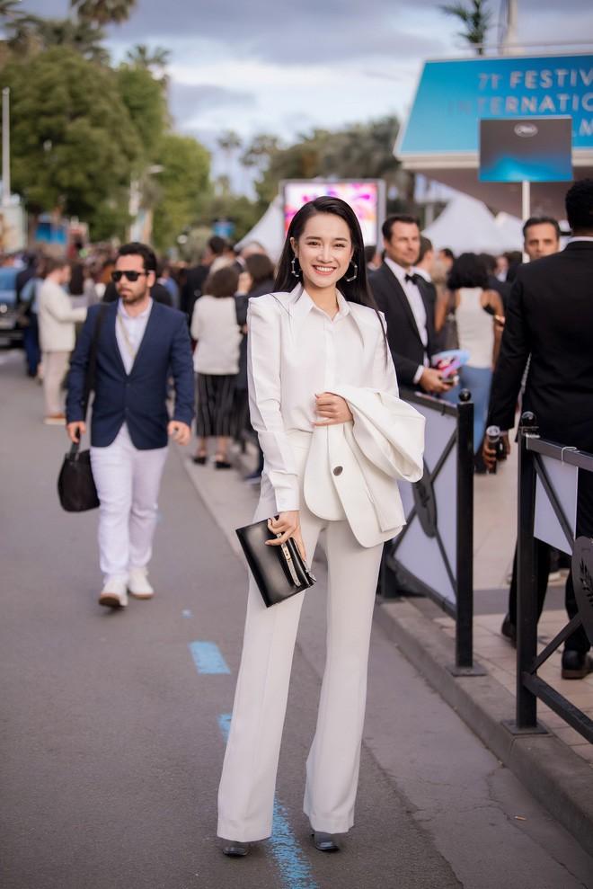 Nhã Phương đọ sắc cùng HH Đỗ Mỹ Linh và Lý Nhã Kỳ trong sự kiện thời trang tại Cannes - Ảnh 8.