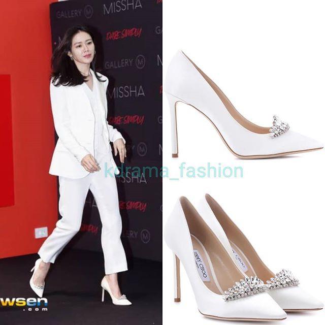 Diện đồ trắng rồi lại chọn giày cùng 1 hãng, chị đẹp Son Ye Jin và Hana thật khiến người ta không phân định được ai đẹp hơn - Ảnh 5.