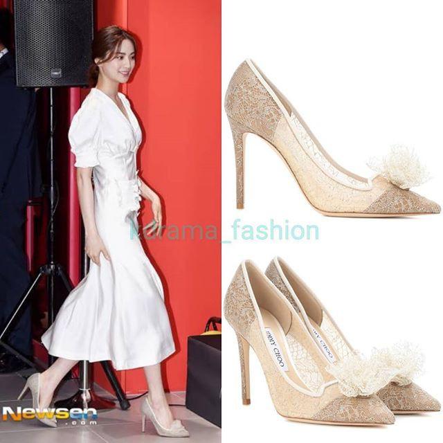 Diện đồ trắng rồi lại chọn giày cùng 1 hãng, chị đẹp Son Ye Jin và Hana thật khiến người ta không phân định được ai đẹp hơn - Ảnh 6.