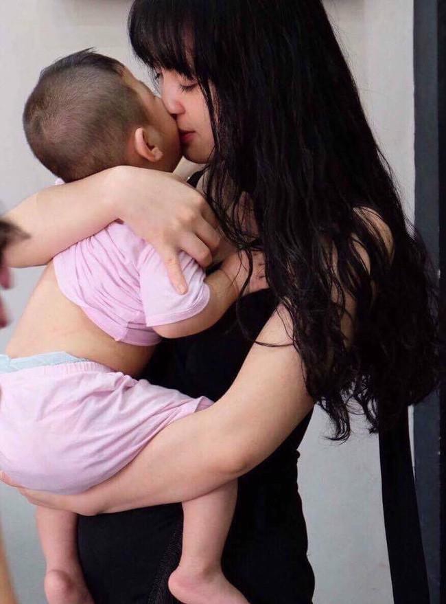 Sau 2 tháng bế em bé Lào Cai xinh như công chúa trong đám cưới, mẹ nuôi 9X của Yến Nhi khoe mang thai con đầu lòng - Ảnh 2.