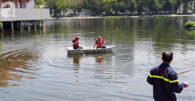 Hà Nội: Nam thanh niên nhảy xuống hồ Thiền Quang trong tình trạng không bình thường, cụ ông lao xuống cứu đuối nước tử vong - ảnh 1