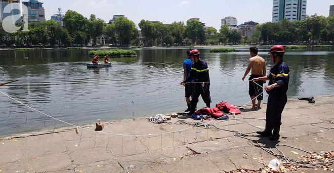 Hà Nội: Nam thanh niên nhảy xuống hồ Thiền Quang trong tình trạng không bình thường, cụ ông lao xuống cứu đuối nước tử vong - ảnh 4