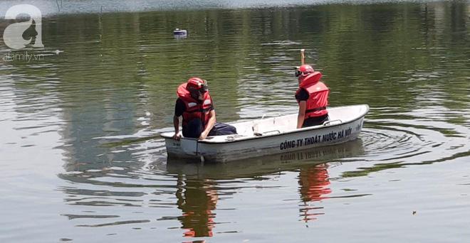 Hà Nội: Nam thanh niên nhảy xuống hồ Thiền Quang trong tình trạng không bình thường, cụ ông lao xuống cứu đuối nước tử vong - ảnh 6
