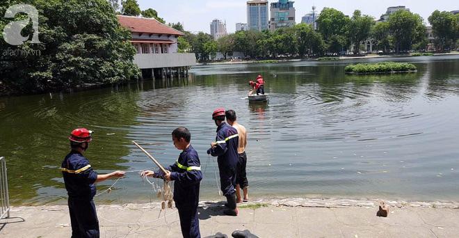 Hà Nội: Nam thanh niên nhảy xuống hồ Thiền Quang trong tình trạng không bình thường, cụ ông lao xuống cứu đuối nước tử vong - ảnh 7