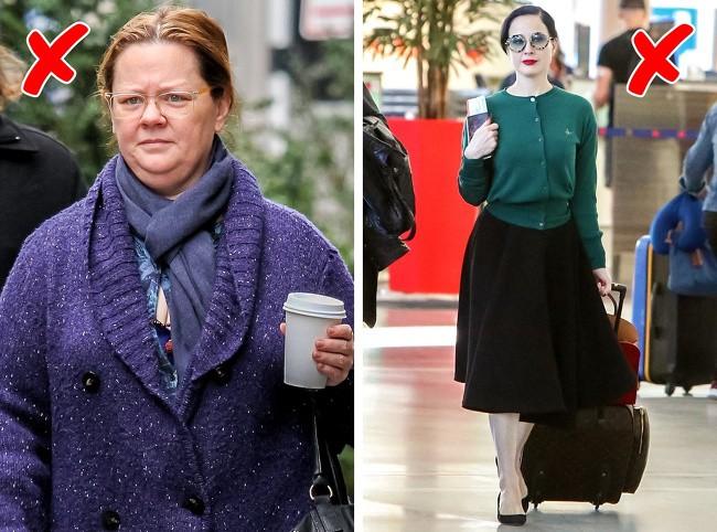 10 kiểu ăn mặc được nhiều chị em ưa chuộng nhưng lại khiến người ta già đi cả chục tuổi - Ảnh 3.