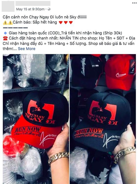 Loạt áo, mũ ăn theo Chạy Ngay Đi của Sơn Tùng M-TP hot rần rần cả trước và sau khi MV ra mắt - Ảnh 5.