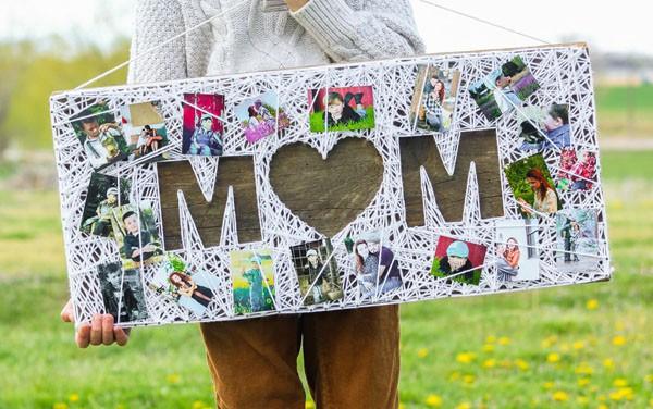 Làm tranh len độc đáo tặng mẹ nhân ngày Mother's Day - Ảnh 7.