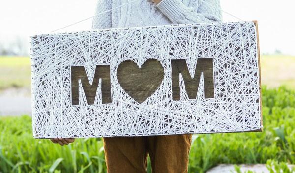 Làm tranh len độc đáo tặng mẹ nhân ngày Mother's Day - Ảnh 6.