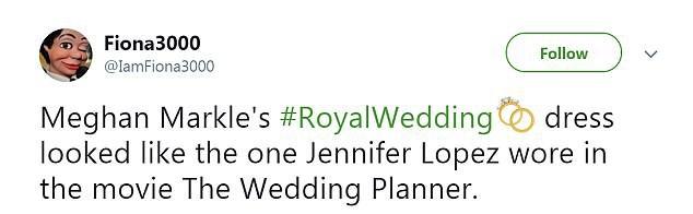 Thật tình cờ và thật bất ngờ, váy cưới của Meghan Markle giống hệt váy Jennifer Lopez mặc từ 17 năm trước - Ảnh 7.