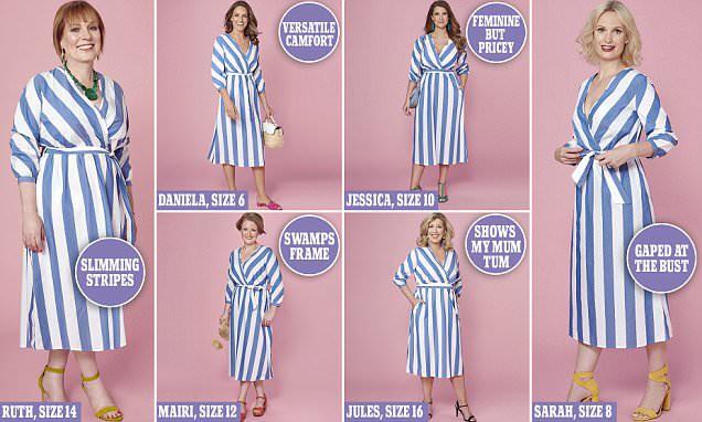 Cùng thử 1 mẫu váy liền siêu tôn dáng, nhưng 6 người phụ nữ này lại có cảm nhận hoàn toàn khác nhau - Ảnh 3.