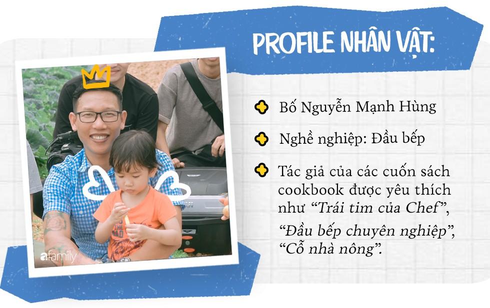 Chef Nguyễn Mạnh Hùng: Ông bố bỏ việc ở nhà hàng 5 sao để về làm đầu bếp cho các con mỗi ngày - Ảnh 2.