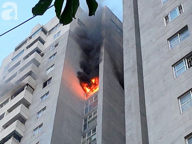 Nguyên nhân ban đầu vụ cháy tại chung cư Bắc Hà Fodacon ở Hà Nội - Ảnh 2.