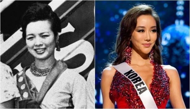 Hoa hậu Hàn Quốc năm 1960 và năm 2012 đã có sự khác biệt vô cùng rõ rệt.