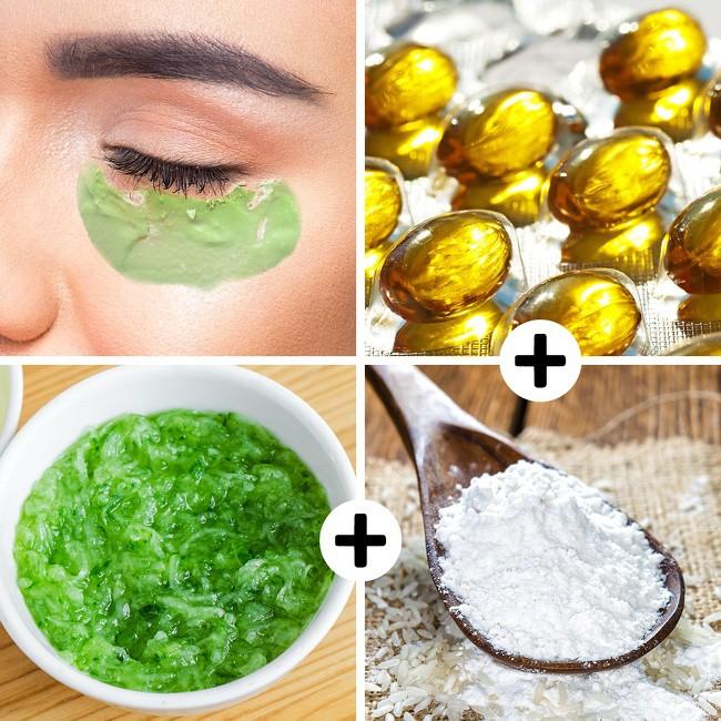 8 loại mặt nạ từ nguyên liệu thiên nhiên loại bỏ quầng thâm mắt hiệu quả, giúp bạn luôn xinh đẹp rạng ngời - Ảnh 1.