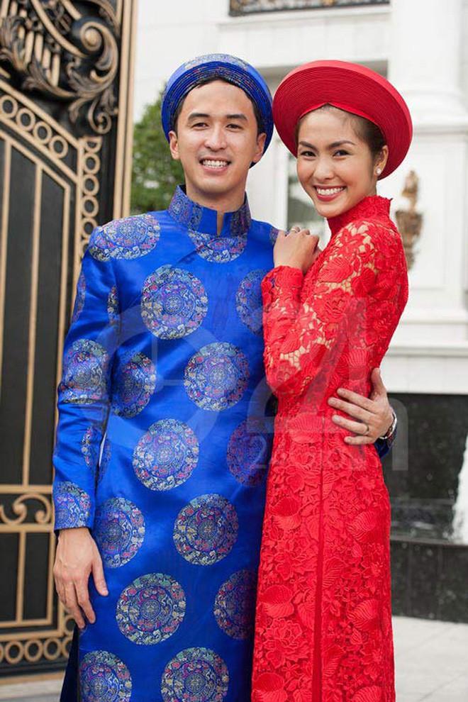 Cùng diện áo dài đỏ ngày ăn hỏi, Diệp Lâm Anh, HH Thu Thảo và Hà Tăng lại chọn 3 phong cách hoàn toàn khác nhau - Ảnh 13.