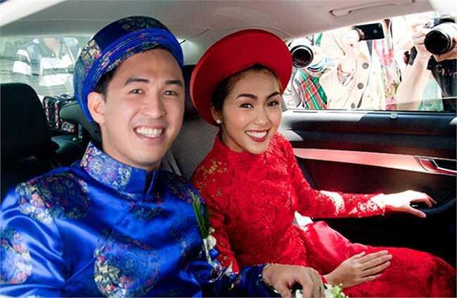 Cùng diện áo dài đỏ ngày ăn hỏi, Diệp Lâm Anh, HH Thu Thảo và Hà Tăng lại chọn 3 phong cách hoàn toàn khác nhau - Ảnh 15.